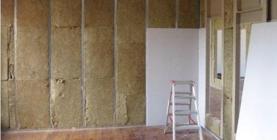 Extrem Neue Wand mit Rigips-Platten EB41