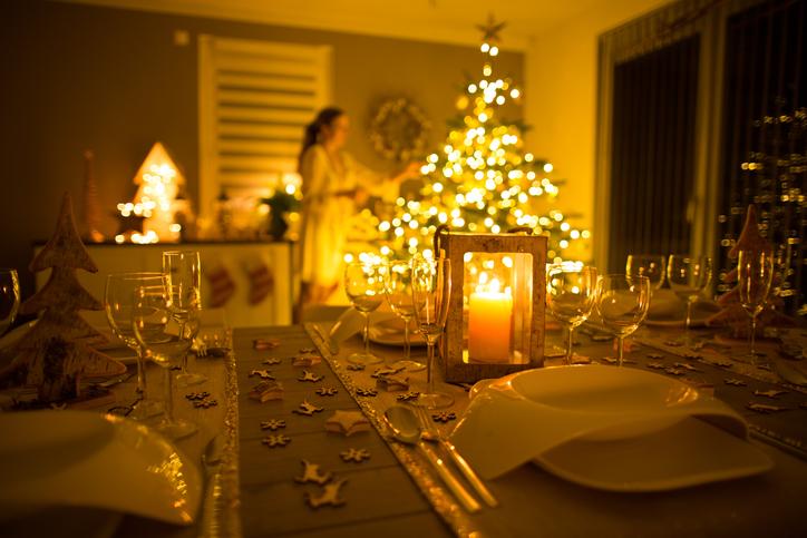 Weihnachtstisch Dekorieren tipps & tricks für die weihnachtliche tischdekoration